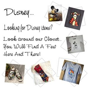 Disney Items... We Do Have Some 😉